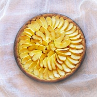 French Apple Tart (Tarte aux Pommes)