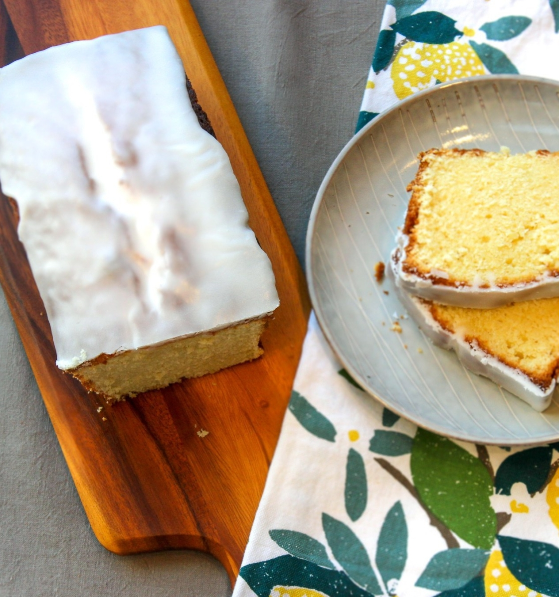 The Perfect Lemon Cake